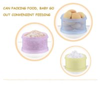 el envío libre infantil del bebé botella de alimentación portátil de leche en polvo envase de alimento recién nacido caja de polvo infantil de la alimentación con leche en polvo Alimentos
