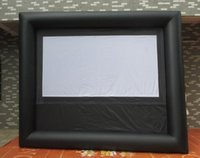 Wholesale 5 m Giant Inflatable Movie Screen Outdoor Inflatable Screen With Blower