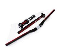 Wholesale PURA RAZA set of carbon mtb Yan put bike handlebar seatpost stem washer bike parts