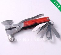 ax functional - Stainless steel Multi functional hammer Ax Pliers Camping equipment OS686