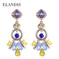Wholesale 2015 New arrival dangle earrings for women crystal drop earrings gold plating alloy earrings women jewelry ER50326
