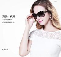 Wholesale Polarized sunglasses for women star style restoring ancient ways round sunglasses female boom box lady drive sun glasses