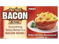 Wholesale SF to USA NEW Perfect Bacon Bowl Bowls Microwave Oven Dishwasher Safe set Factory Direct Sale