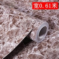 art marble furniture - Marble pvc wallpaper furniture kitchen cabinet wardrobe table thickening waterproof beijingqiang wall sticker CMX5M