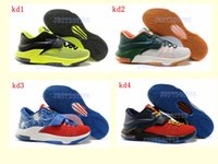 M Women  KD 7 Best selling cheap mens sneaker KD 7 new brand sport shoes men basketball shoes high quality kd outdoor shoes size 41-46 running shoes