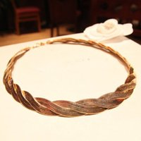Wholesale New arrival fashion Jewelry K gold filled snake chain NECKLACE inch Hemp flowers Golden Necklace Super pric WG125