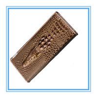 Wholesale New Arrived Women Leather Wallets Fashion D Alligator Brand Design Casual Lady s Purse Women s Clutch Wallet Purses