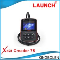 For Dodge bat tool - 2015 Newly Original Launch X431 Creader S Code Reader Oil Reset Function Multi langauge Original Creader vii plus EPB reset and BAT Tool