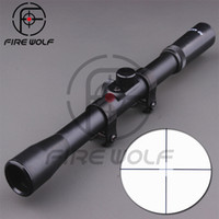 airsoft sniper rifle - 2016 New Hunting Telescopic Sight X20 Mounting mm Mount Optics Sniper Airsoft good Riflescope