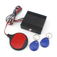Wholesale High quality easy installtion YH Motorcycle ID Card Induction Warded Lock Alarm anti theft protection lock