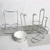 Wholesale Thick stainless steel spoon spoon rack pot rack pot shops soup spoon rack rack colander