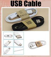 Wholesale 1m ft cell phone usb charging cable for v8 micro data cable work with HTC one s4 s3 s5 galaxy note3 lenovo usb CAB001
