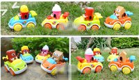 Cheap 10pcs set Classic Mini pull back Cars Educational Toys Wholesale Truck toy car fire fighting truck baby pull back Engineering Cars