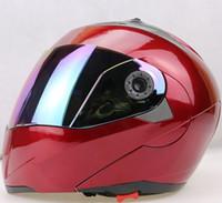 best full face motorcycle helmet - New Arrivals Best Sales Safe Flip Up Motorcycle Helmet With Inner Sun Visor Everybody Affordable Double Lens Motorbike Helmet