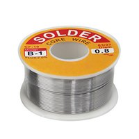 Wholesale New mm Tin Lead Soldering Melted Rosin Core Solder Wire Coils Christmas Gift LKA