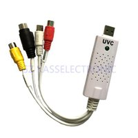 analog video format - 2015 new uvc capture capture any analog video audio to digital format rca to usb connect for MAC Windows Linux