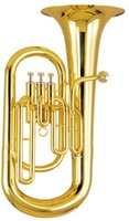 Wholesale Bb Tone Piston Euphonium with wood case Brass wind Musical instruments Factory Supply OEM