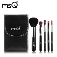 class a bags - NEW ARRIVAL MSQ Makeup Brushes Set High Class Animal Hair Cosmetics Brush With a Classic Black PU Make Up Bag