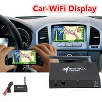 Android car audio dvd - Universal WIFI Car DVD Mirror Box for Android iOS Phone Navigation Car Audio Miracast DLNA Airplay Wi Fi Smart Screen Mirroring K2272