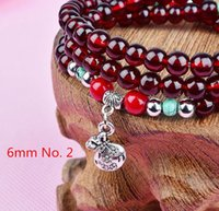 beaded friendship bracelet patterns - New Styles Pendant Imitate garnet Beads Bracelet Fashion Jewelry Vintage silver plated Pattern Charm Friendship Women Bracelets