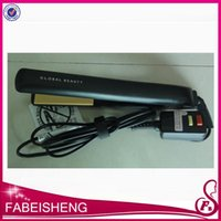 hair straightener - In stock Classical BLACK Straightening Irons Hairstyling Flat Iron with Retail Box hair straightener CHI DHL