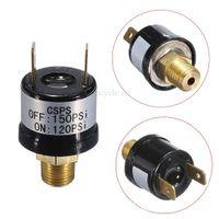 air horn switch - 12V A Trumpet Horn Compressor Air Compressor Pressure Control Switch Valve Heavy Duty PSI A5