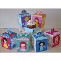 Favor Boxes baby shower princess - Princess Party Baby Shower Favor Box Cupcake Box Candy Box Birthday Party Decorations Kids Event Party Supplies
