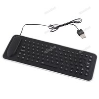 best foldable keyboard - cleverdeal Best choice Portable USB Mini Flexible Silicone PC Keyboard Foldable for Laptop Notebook Top grade