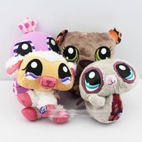 animal pets games - Hasbro Littlest Pet Shop plush toys styles for choose collection stuffed animals Christmas gifts for Children E271