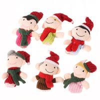 Cheap Wholesale-Finger Puppet Dolls Toys Story-telling Props Tools Toy Model Babies Kids Children Toys