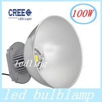Wholesale 100W LED High Bay Light V Industrial LED Lamp Degree High Bay Lighting LM Led Lights for Workshop Factory CE ROHS Approval