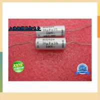 axial lead electrolytic capacitor - The transverse axial lead electrolytic capacitor uf V non inductive capacitance original imported order lt no track