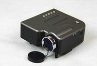 Wholesale UC28 MINI LED Projector LCD LED Digital Video Game support USB SD AV VGA HDMI MINI Projectors with HDMI Mini AV Multimedia player Inputs