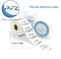 Wholesale Thermal Sticker Label Heat Transfer Printing Paper mm Roll Label labels Roll