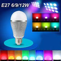 4w gu10 led - MILIGHT G Wireless E14 E27 E26 GU10 RGBW RGB WW WW W wifi W W W W W AC85 V lampada LED Dimmable Bulb Lamp spot light