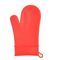 Wholesale Large Silicone Oven Mitts Microwave Protective Gloves Kitchen Baking Silicone Cooking Tools