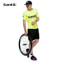 Wholesale SANTIC C05003 Road Mountain Leisure Baggy Loose Men s Cycling Shorts Casual Shorts with Pad Detachable Liner Gray