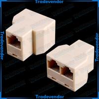 Wholesale View Larger Image RJ45 Way Network Cable Splitter Extender Plug Coupler