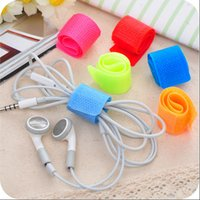 Wholesale PACK Colorful Straps Wire Cable Ties Organizer Velcro Maker Holder JF1