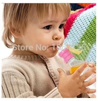 Wholesale Children bottled straw cup drinking straw cover one second variable suction cup of anti choking trainer cup