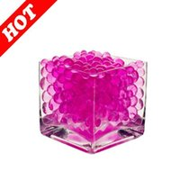 absorbent polymer balls - 3000Pieces Wedding Decoration Super Absorbent Polymer Crystal Soil Balls Vase Fillers Pink Water Beads