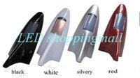 Wholesale Car solar light shark fin antenna style warning LED Flash car motorcycle anti rear end tail light Fast freeshipping