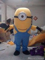 con un mini ventilatore all'interno dei peluche Minion testa Jorge costume Minion Dave costume costumi mascotte Minion