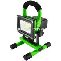 Wholesale W LED rechargeable floodlight for Portable Spotlight emergency Lanterns floodlight