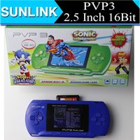 Wholesale PVP3 inch Bit Game Player Handheld TV Out Video Game Console game players for Children Kids Gift Toys