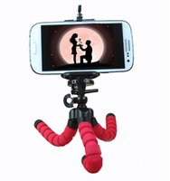 best flexible tripod - Best Offer Mini CM Digital Camera Stand Flexible Leg Tripod Grip Octopus Bubble Pod Monopod Mobile Phone Holder Clip mm Factory Sale