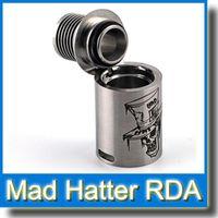 Derringer atomiseur Prix-Hottest Mad Hatter RDA atomiseur Clone Double AFC sur Atomizer Avec 2 Piece Top Cap Design vs Dark Horse Derringer rda pour mini boîte mod