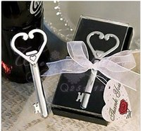 Wholesale Wedding Favors quot Key To My Heart quot Victorian Style Wine Bottle Opener sets