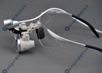 Cheap Free Shipping High Quality Ultra-light 2.5X Binocular Dental Surgical Loupes & High brightness SZ-1 Headlight