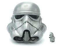 Wholesale 3D Starwars Stormtrooper Helmet Unique Color Belt Buckle